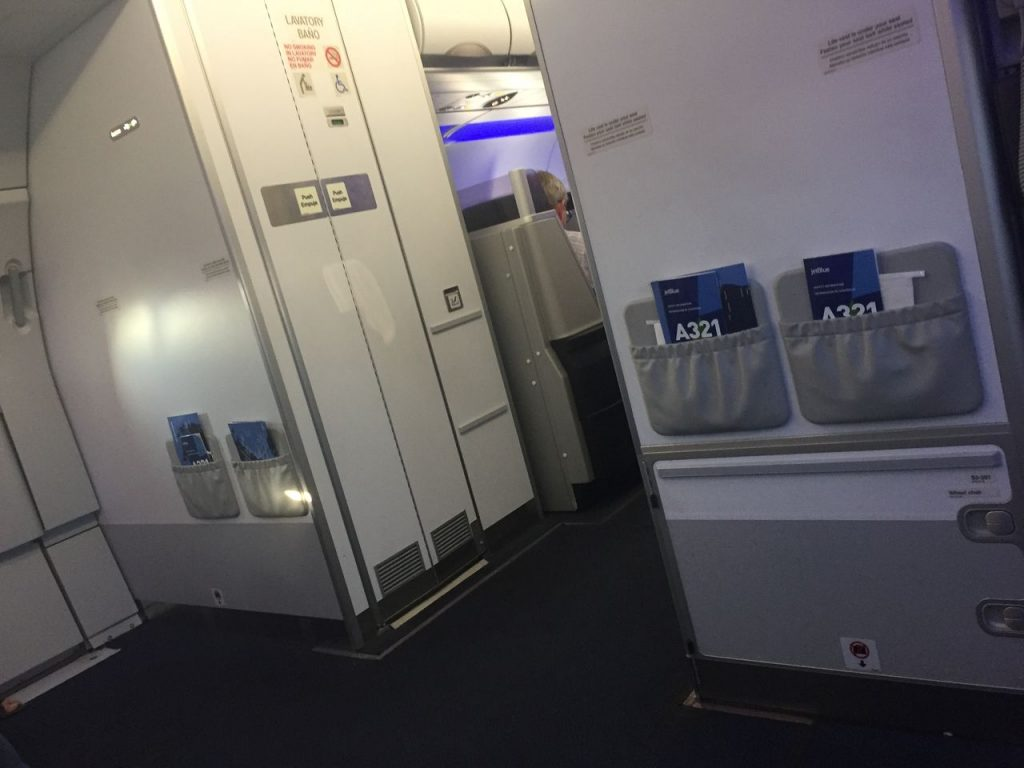 Airbus A321 200 JetBlue Airways Economy Cabin Premium Eco Even More Space Bulkhead Seats