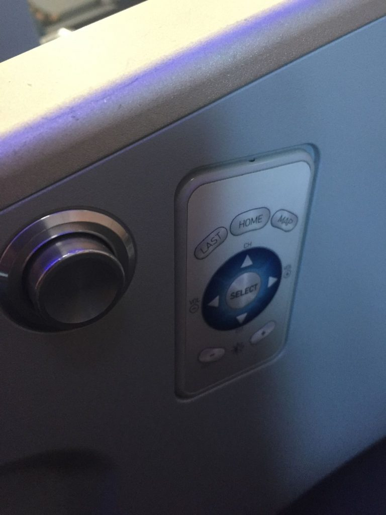 Airbus A321 200 JetBlue Airways Economy Cabin Premium Eco Even More Space Inflight Entertainment IFE PTV Control