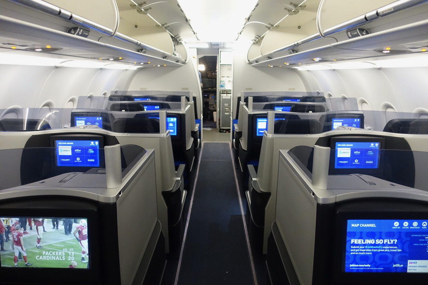Airbus A321 200 Jetblue Airways Mint Experience Business Class Cabin
