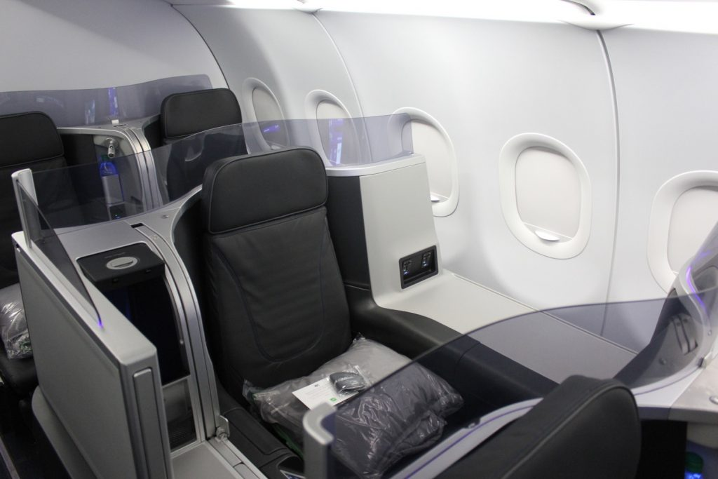 Airbus A321 200 JetBlue Airways Mint Experience Business Class Cabin Seats Configuration Photos