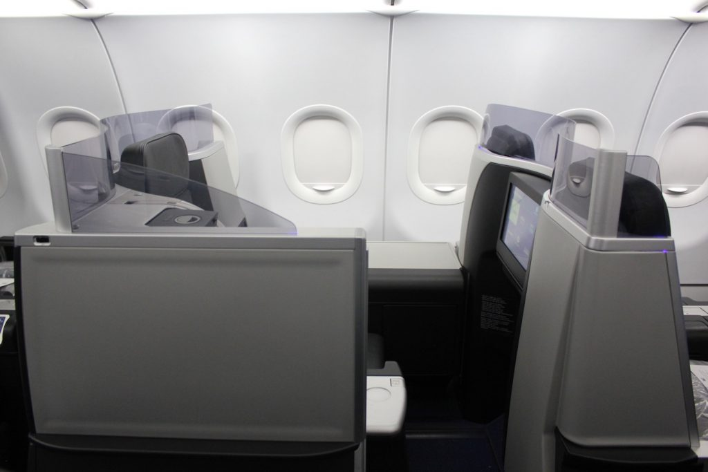 Airbus A321 200 JetBlue Airways Mint Experience Business Class Cabin closed door suites Mint suites Photos