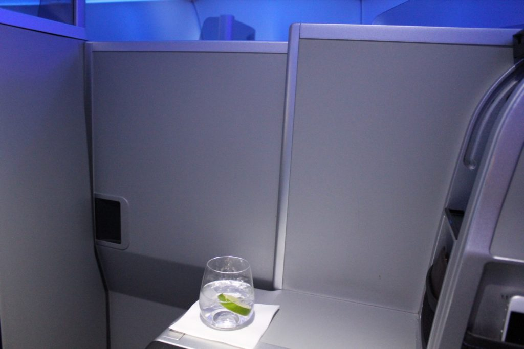 Airbus A321 200 JetBlue Airways Mint Suite Experience Business Class Cabin fully closed seats