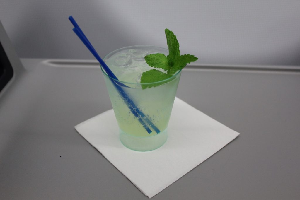 Airbus A321 200 JetBlue Airways Mint Suite Experience Business Class Cabin signature pre flight drinks services
