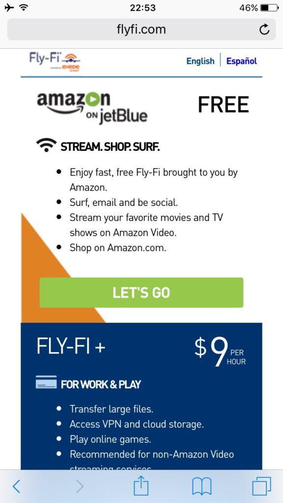 Airbus A321 200 JetBlue Mint Suite Business Class Inflight Services WiFi Internet Fly Fi