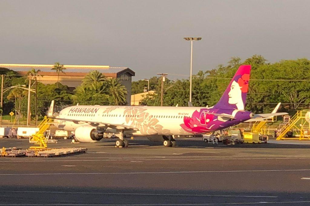 Airbus A321Neo Hawaiian Airlines New Aircraft Fleet Inaugural Flight Photos
