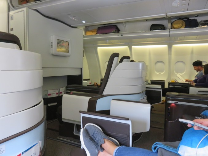 Airbus A330 200 Hawaiian Airlines Domestic First Class Cabin Inflight Photos