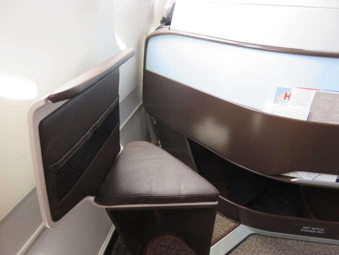 Airbus A330 200 Hawaiian Airlines Domestic First Class Cabin Seats Footrest Photos