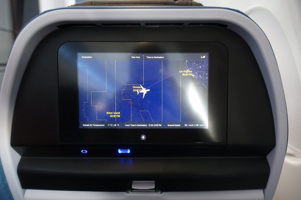 Airbus-A330-200-Hawaiian-Airlines-Extra-Comfort-Class-Inflight-Amenities-Inflight-Entertainment-IFE-system-seatback-monitors