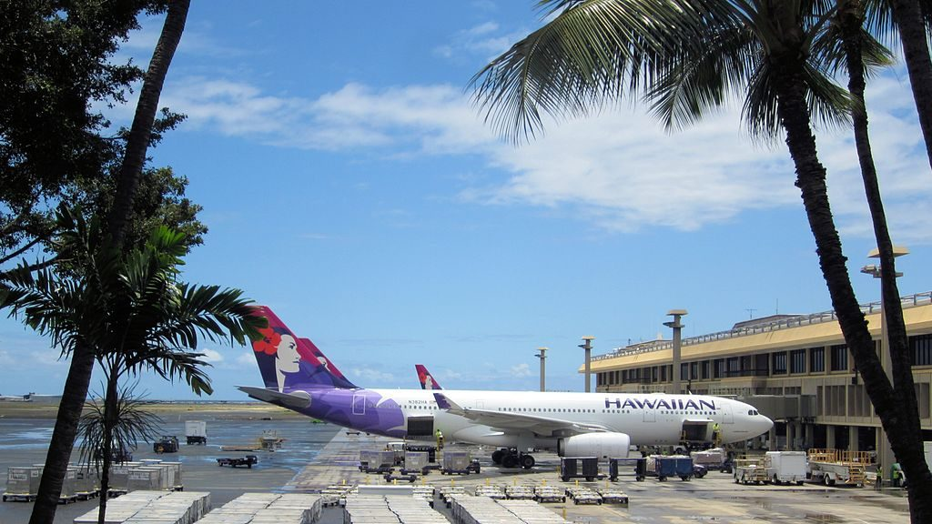 Airbus A330 243 cnserial number 1171 22Iwakelii22 Widebody Aircraft Hawaiian Airlines Fleet at Honolulu International Airport Oahu Hawaii