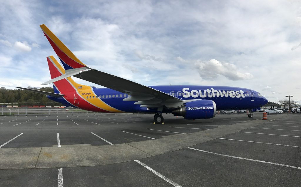 Boeing 737 MAX 8 Southwest Airlines N8705Q Narrow Body Single Aisle Aircraft Photos