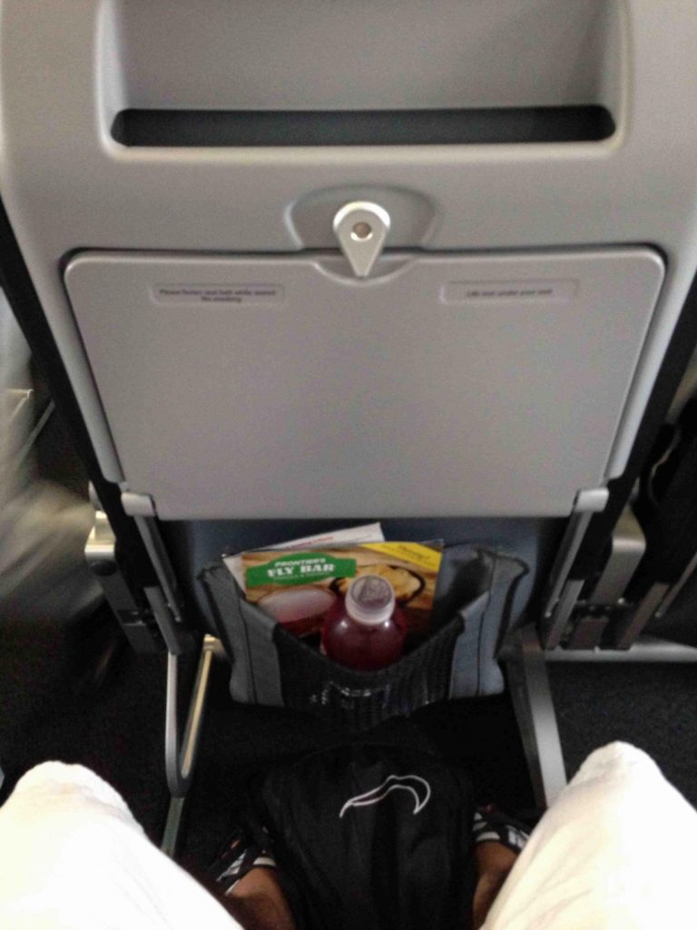 Comfortable Stretch Seat on Airbus A320 200 Frontier Airlines
