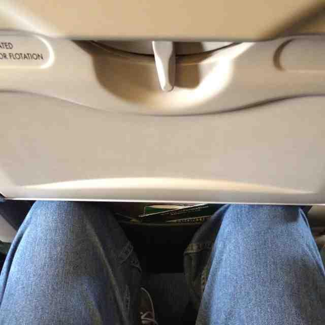 Frontier Airlines Airbus A319 100 main cabin standard couch economy class seats pitch legroom
