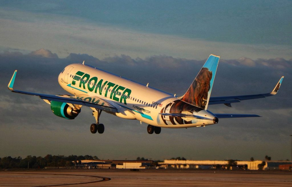 Frontier Airlines Airbus A320 251Neo Wiley the Bison Livery N313FR Aircraft Photos