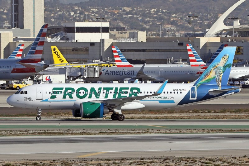 Frontier Airlines Airbus A320 251Neo cn 7824 N316FR Shelly The Sea Turtle