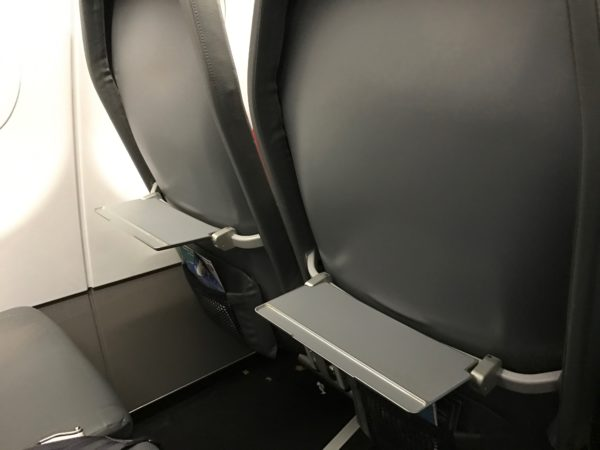 Frontier Airlines Airbus A321 200 Regular Seating And Tray Table