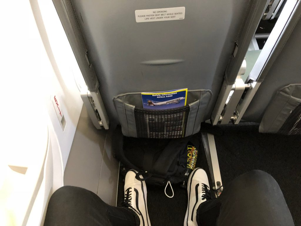 Frontier Airlines Airbus a320neo Cabin Stretch Seats Legroom