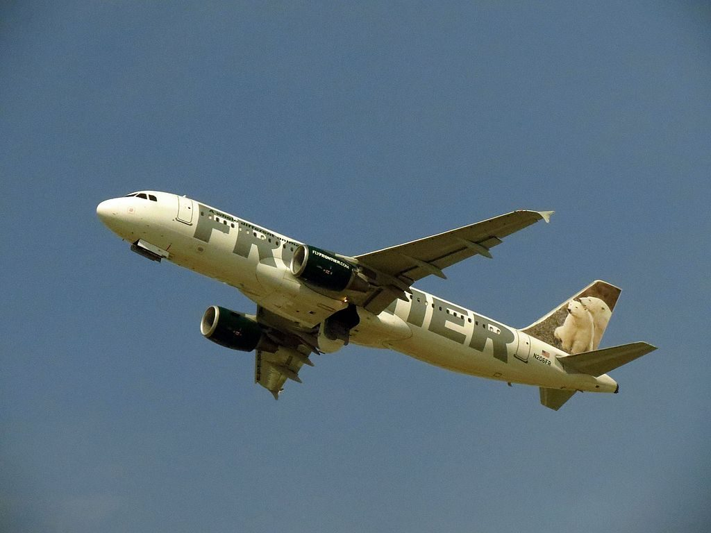 Frontier Airlines N206FR Airbus A320 200 Alberta Clipper departing Hartsfield Jackson Atlanta International Airport