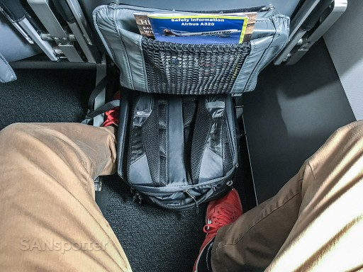 Frontier Airlines Stretch seats pitch legroom Airbus A320 200 cabin interior configuration