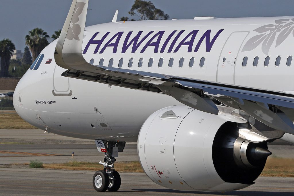 Hawaiian Airlines Aircraft Fleet Airbus A321 271N A321Neo cn 8266 N215HA 22Uhiuhi22 Winglets and Engines Photos