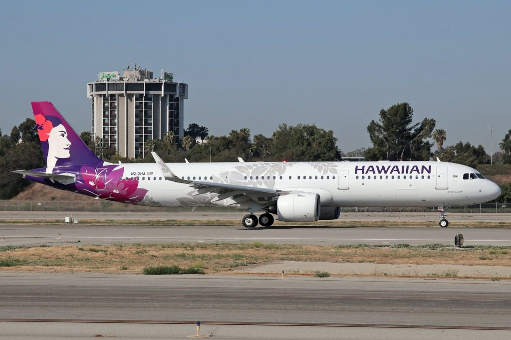 Hawaiian Airlines Aircraft Fleet Airbus A321 271N A321neo cn 8129 N212HA 22WiliWili22 departing Long Beach Airport LGBKLGB to for Honolulu Daniel K Inouye International Airport HNLPHNL