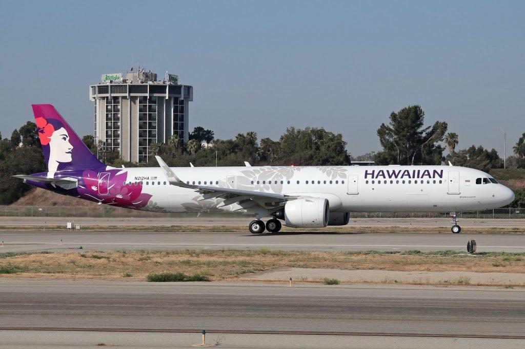 Hawaiian Airlines Aircraft Fleet Airbus A321 271N A321neo cn 8129 N212HA 22WiliWili22 departing Long Beach Airport LGBKLGB to for Honolulu Daniel K Inouye International Airport HNLPHNL