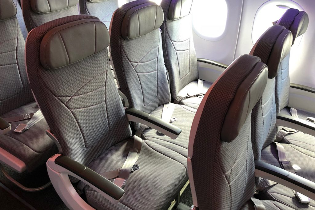 Hawaiian Airlines Aircraft Fleet Airbus A321neo Economy Class Single Aisle Cabin Extra Comfort Seats Photos