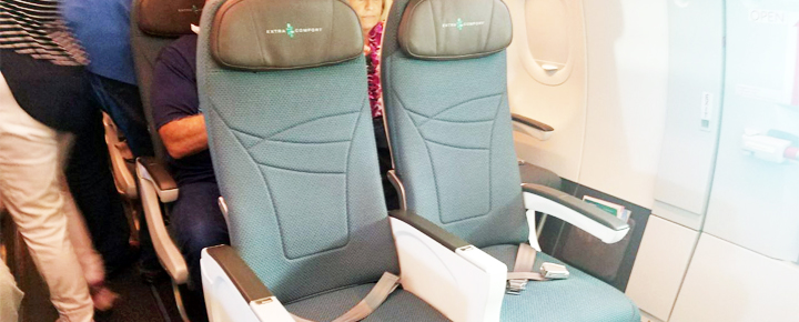 Hawaiian Airlines Aircraft Fleet Airbus A321neo Extra Comfort Premium Economy Seats Great For Long Haul Flights
