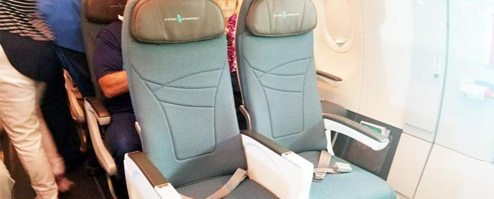 Hawaiian Airlines Aircraft Fleet Airbus A321neo Extra Comfort Premium Economy Seats Great For Long Haul Flights