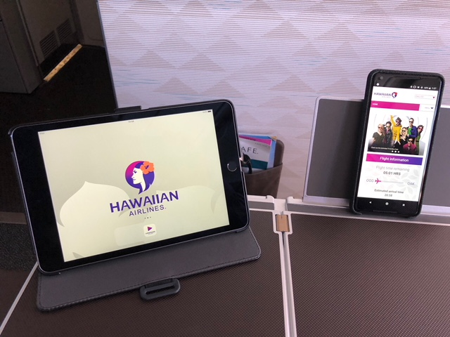 Hawaiian Airlines Aircraft Fleet Airbus A321neo First Class Cabin Inflight Entertainment System