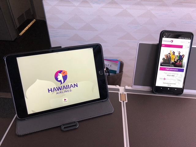 Hawaiian Airlines Aircraft Fleet Airbus A321neo First Class Cabin Inflight Entertainment System