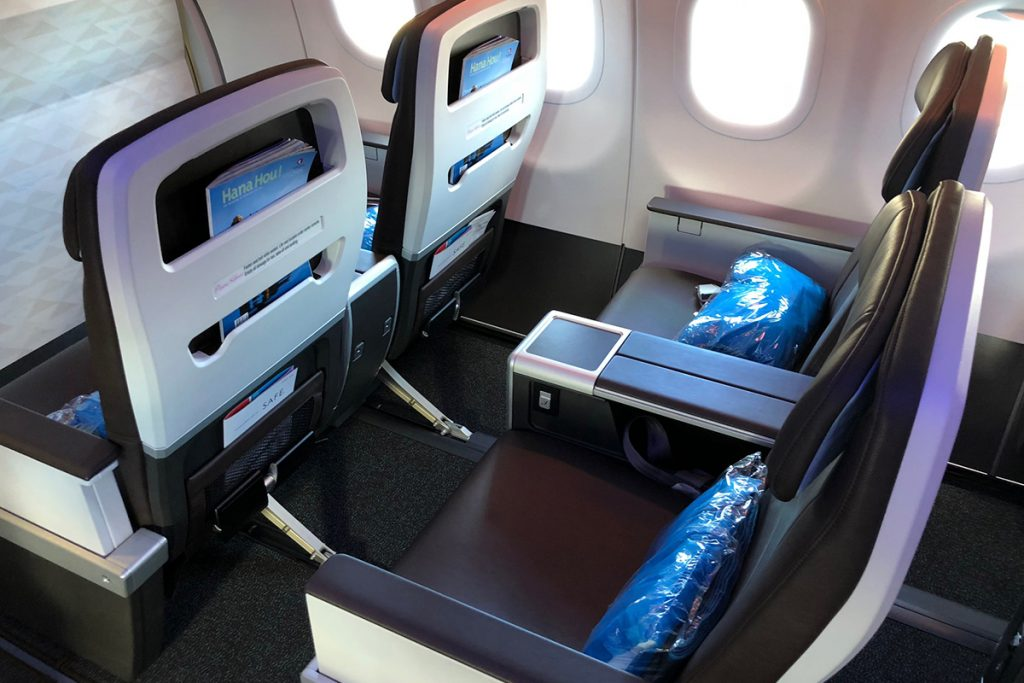 Hawaiian Airlines Aircraft Fleet Airbus A321neo First Class Cabin Interior Seats Window Rows Photos