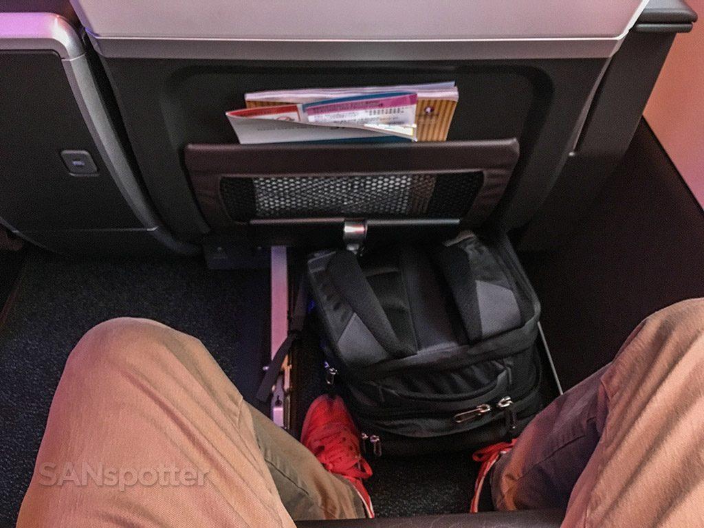 Hawaiian Airlines Aircraft Fleet Airbus A321neo First Class Cabin Seats Pitch Legroom Photos @SANspotter