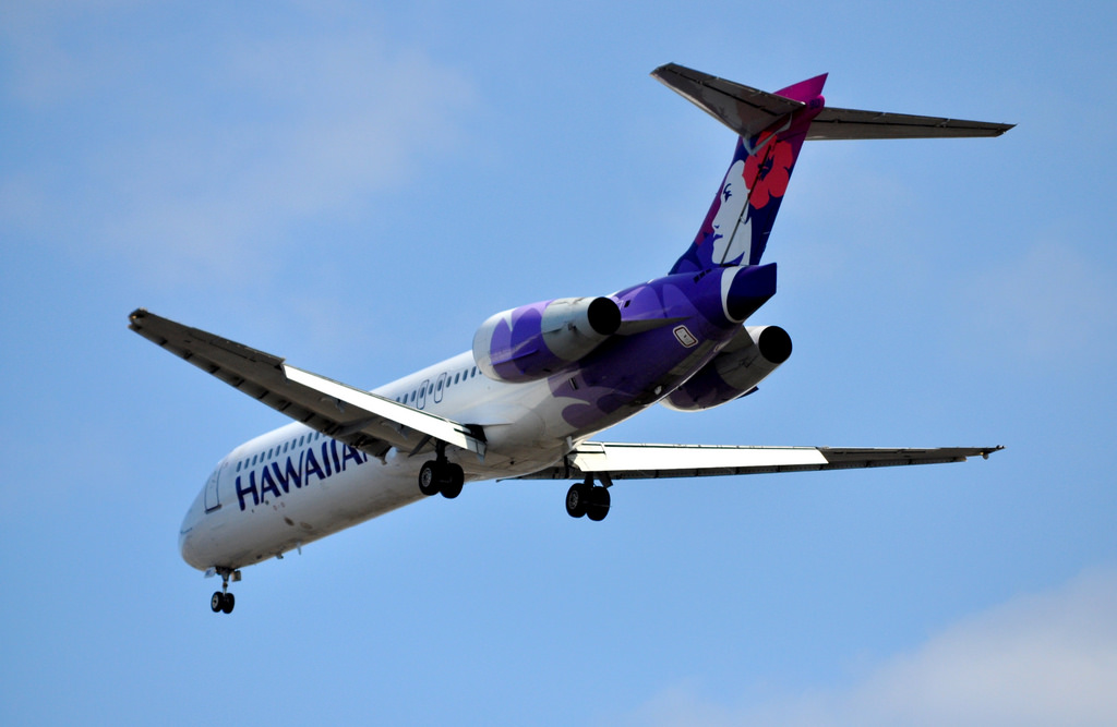 Hawaiian Airlines Aircraft Fleet Ou Boeing 717 200 N490HA