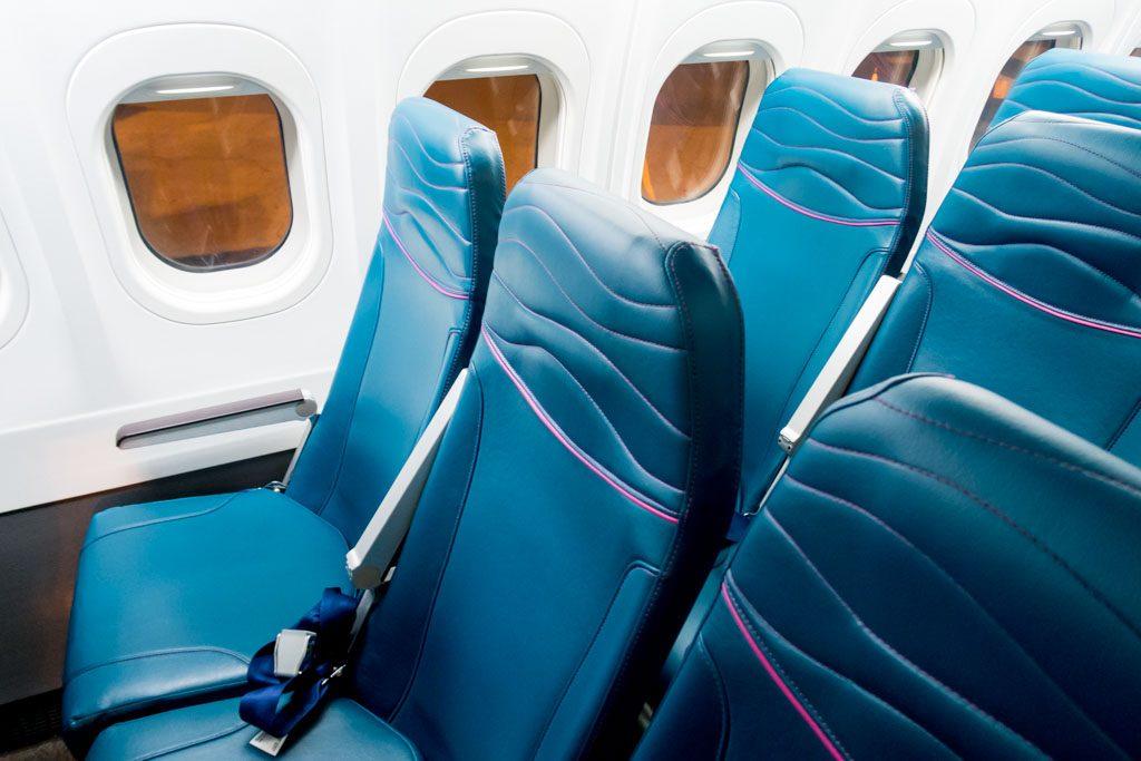 Hawaiian Airlines B717 200 Economy Class Cabin Standard Seats Photos