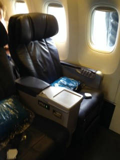 Hawaiian Airlines Boeing 767 300ER Firs Class Cabin Seat 1A Photos