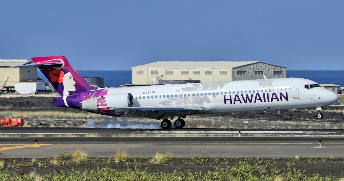 Hawaiian Airlines McDonnell Douglas MD 95 30 717 2BL 551825138 N494HA Koae Kea Aircraft Photos