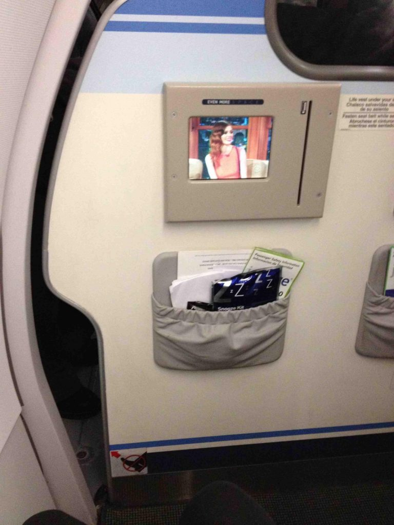 JetBlue Airbus A320 200 Premium Economy Even More Space Bulkhead Seats