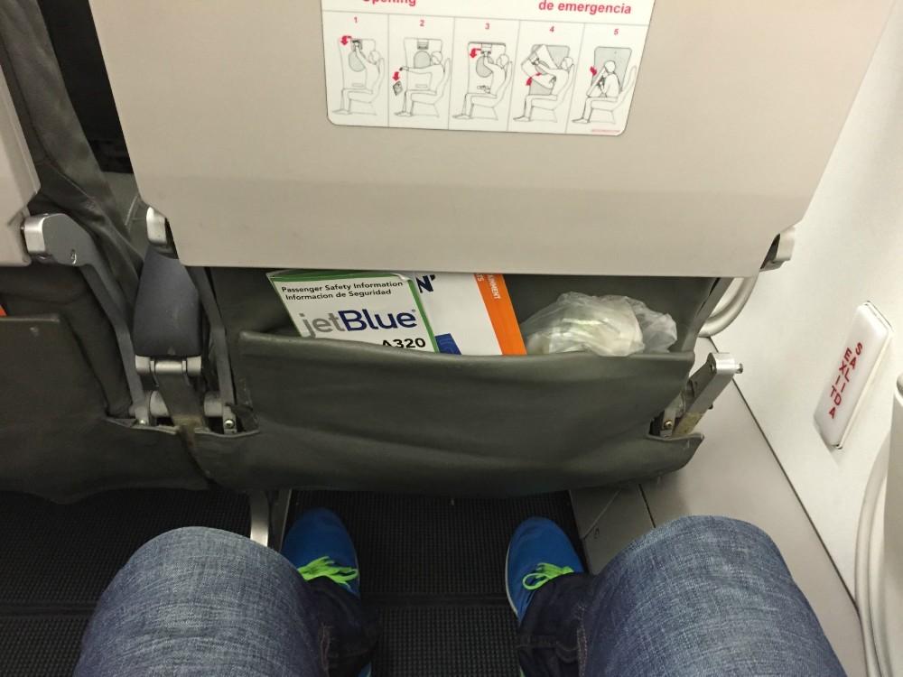 JetBlue Airbus A320 200 Premium Economy Even More Space Seats Pitch Legroom