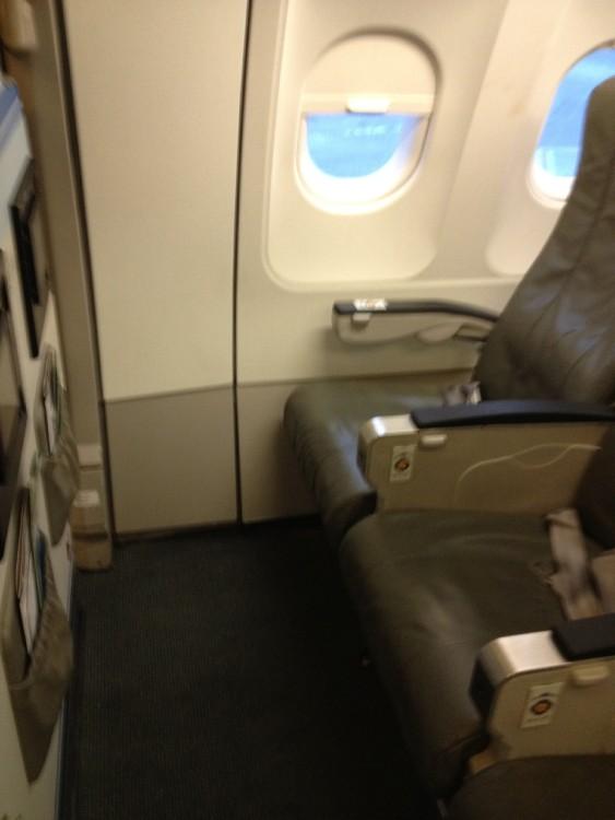JetBlue Airbus A320 200 Standard Bulkhead Coach Seats Pitch Legroom