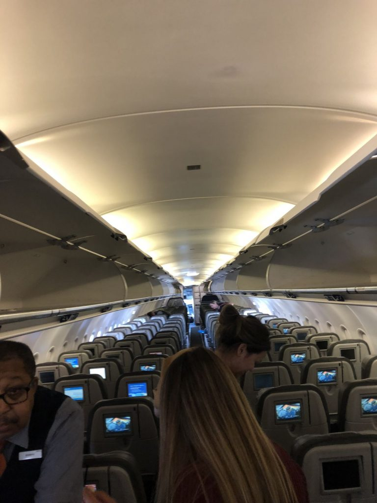 JetBlue Airways Airbus A320 200 Economy Cabin Onboard Interior Configuration with seats 3 3 layout