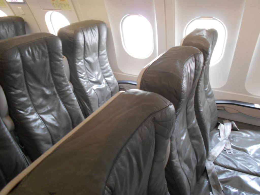 JetBlue Airways Airbus A320 200 Economy Cabin Standard Coach Big Leather Seats Row Photos