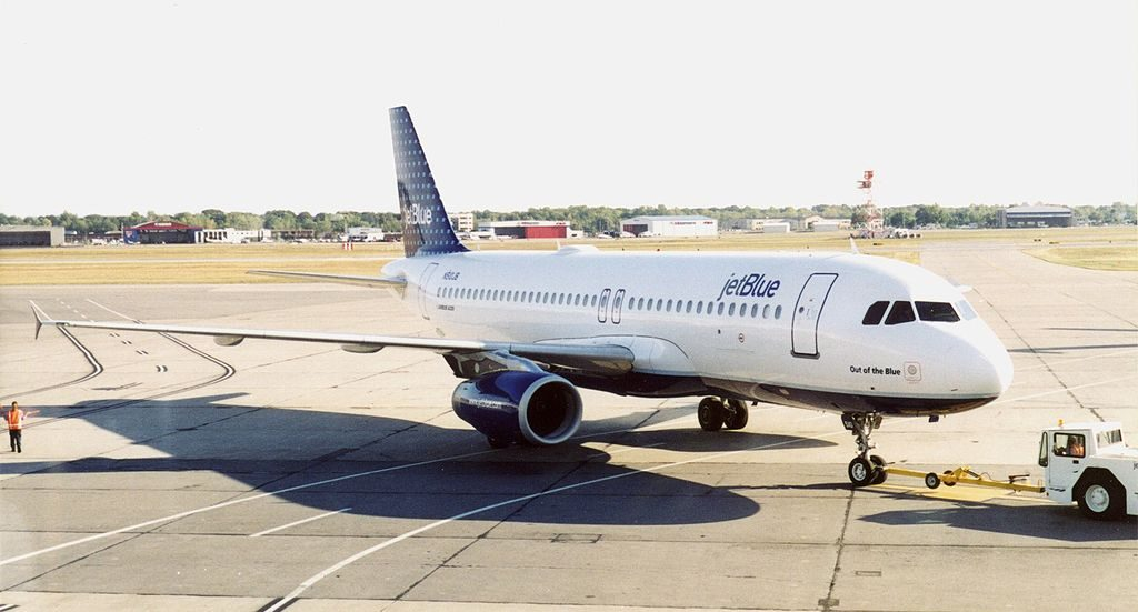 JetBlue Airways Airbus A320 232 N510JB Out of the Blue at Greater Rochester NY International Airport
