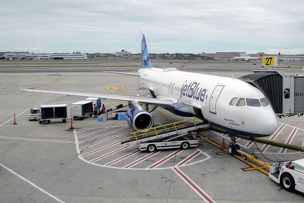 JetBlue Airways Airbus A320 232 N534JB Bada Bing Bada Blue at John F. Kennedy International JFK KJFK New York