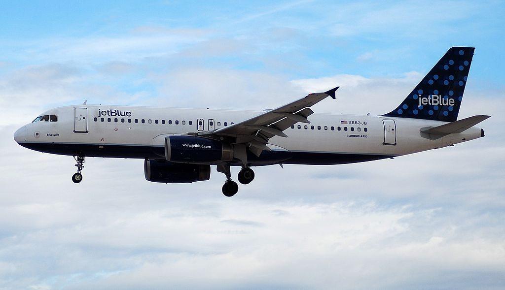 JetBlue Airways Airbus A320 232 N583JB Bluesville at McCarran International Airport