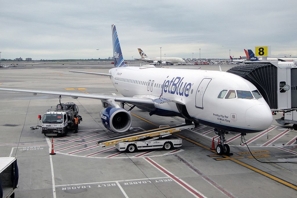 JetBlue Airways Airbus A320 232 N794JB Pretty Fly For A Blue Guy at John F. Kennedy International JFK KJFK New York