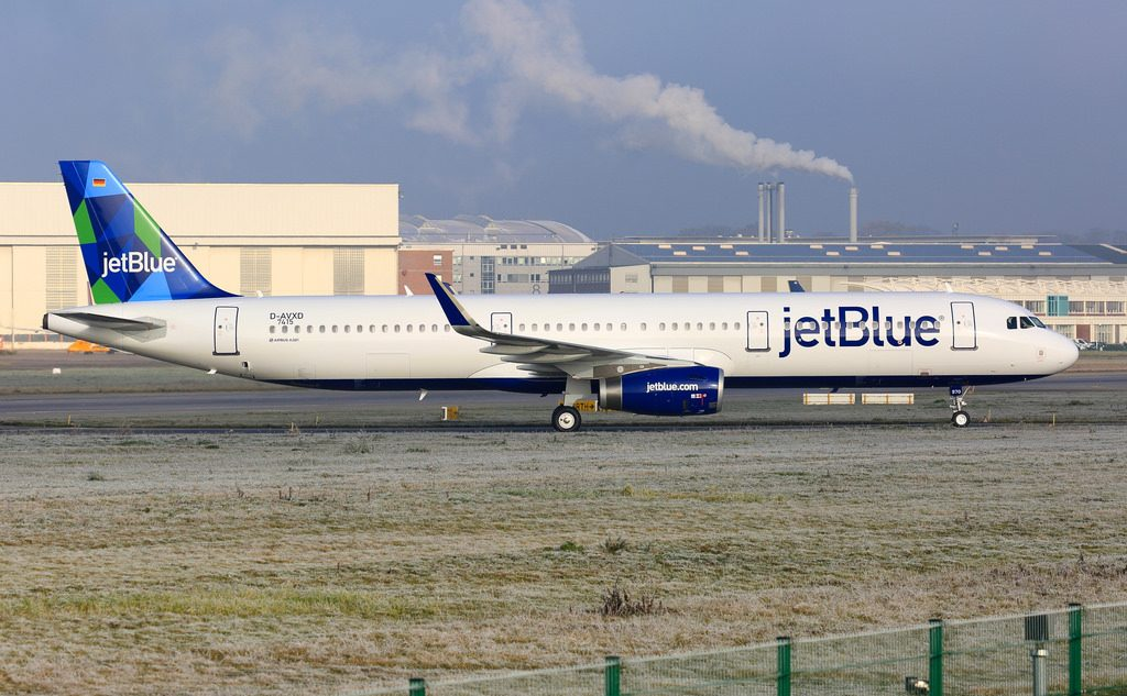 JetBlue Airways D AVXD N970JB MSN 7415 Once Upon A Blue Airbus A321 200 at Hamburg