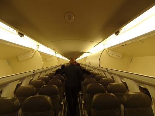JetBlue Airways Embraer E190 E Jet Cabin Interior 2 2 Seats Configuration with even more space