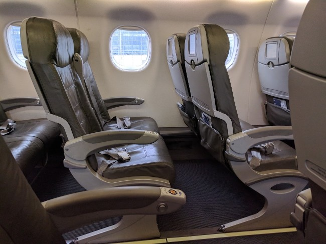 JetBlue Airways Embraer E190 E Jet Cabin Interior Configuration and Seats Layout