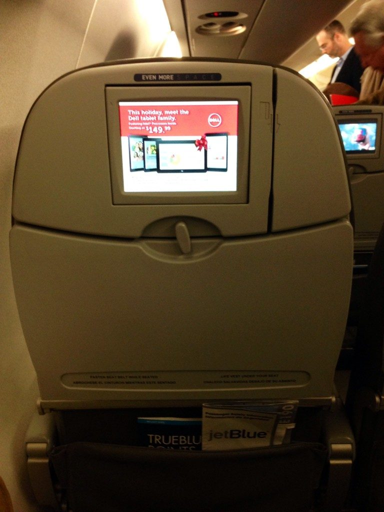 JetBlue Airways Embraer E190 E Jet Economy Cabin Even More Space Seats with TV Screen
