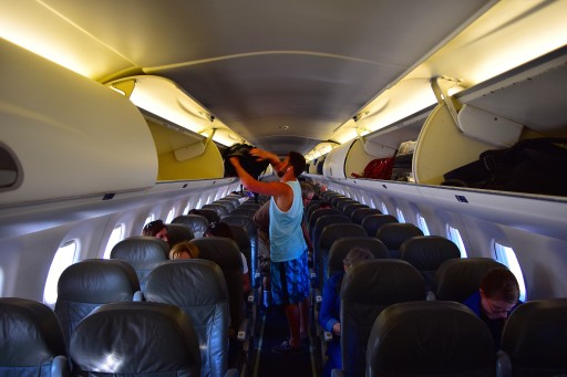 JetBlue Airways Embraer E190 E Jet Economy Cabin Interior with 2 2 seats layout configuration